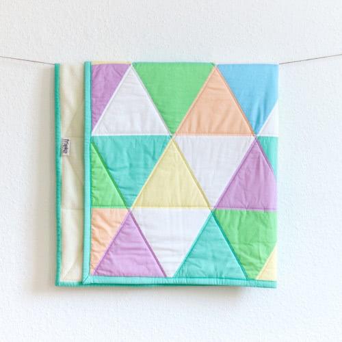 """Babyquilt """"Candy"""" by FRIEKE handmade (frieke.me)"""