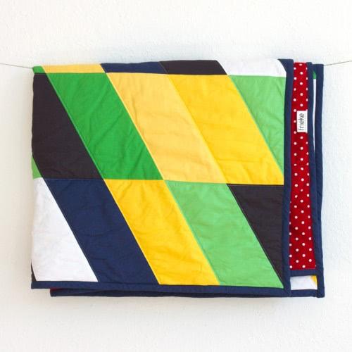 """Quilt """"Camping"""" by FRIEKE handmade (frieke.me)"""