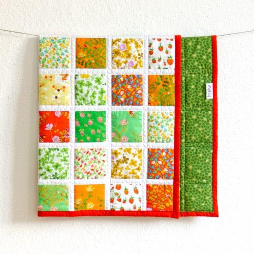 """Babyquilt """"Summerdays"""" by FRIEKE handmade (frieke.me)"""