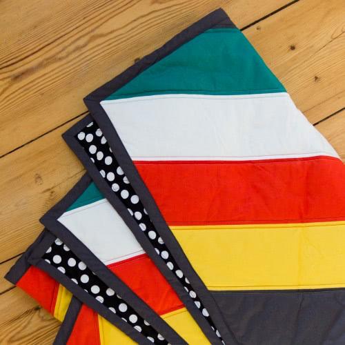 """Quilt """"Tribe"""" by FRIEKE handmade (frieke.me)"""