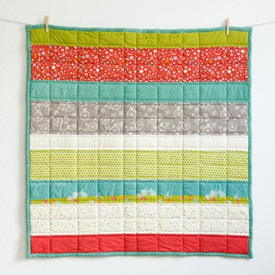 "Babyquilt ""Picknick"" by FRIEKE handmade (frieke.me)"