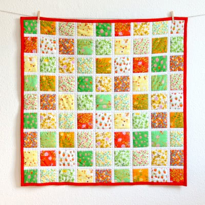 "Babyquilt ""Summerdays"" by FRIEKE handmade (frieke.me)"