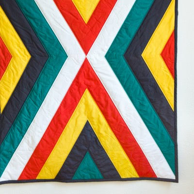 "Quilt ""Tribe"" by FRIEKE handmade (frieke.me)"